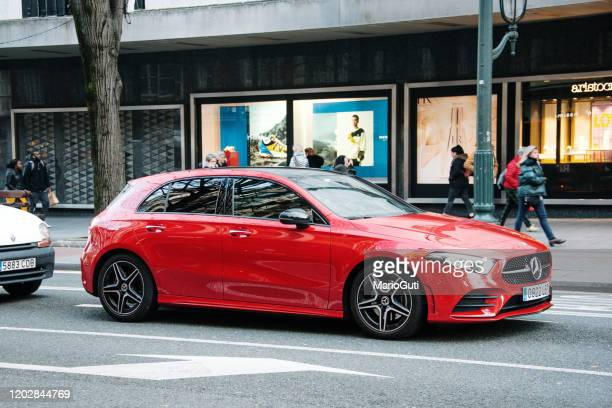 mercedes-benz a-class - mercedes benz stock pictures, royalty-free photos & images