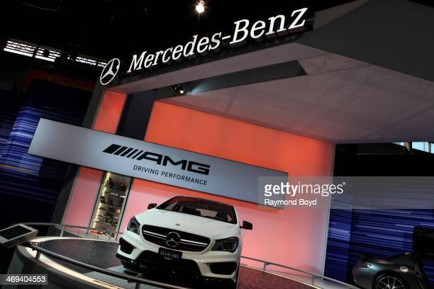 MercedesBenz AMG at the 106th Annual Chicago Auto Show at McCormick Place in Chicago Illinois on FEBRUARY 06 2014