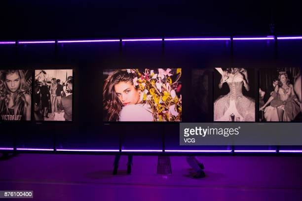 MercedesBenz 'Backstage Secrets' By Russell James Book Launch Shanghai Exhibition opens at Harbor City Gala Hall on November 18 2017 in Shanghai China