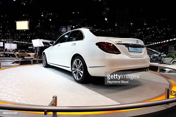 Mercedes-Benz C250, at the 106th Annual Chicago Auto Show, at McCormick Place in Chicago, Illinois on FEBRUARY 06, 2014.