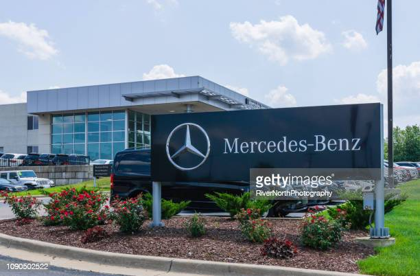 mercedes-benz dealership - mercedes benz stock pictures, royalty-free photos & images