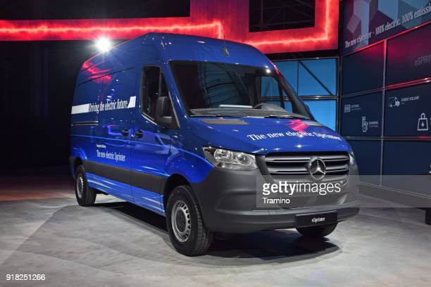 Mercedes-Benz eSprinter in electric version