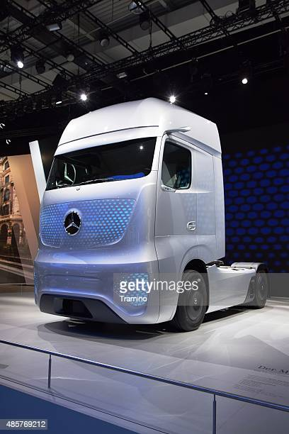 Mercedes-Benz Future Truck 2025 on the motor show