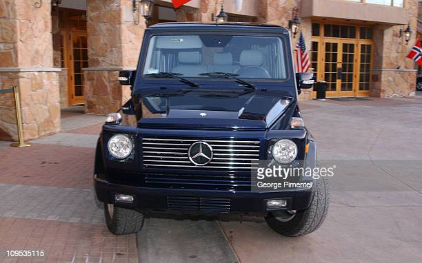 MercedesBenz G500 during 2003 Park City Mercedes Benz in Park City in Park City Utah United States