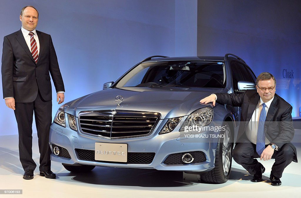 mercedes benz japan president hans tempe pictures getty images