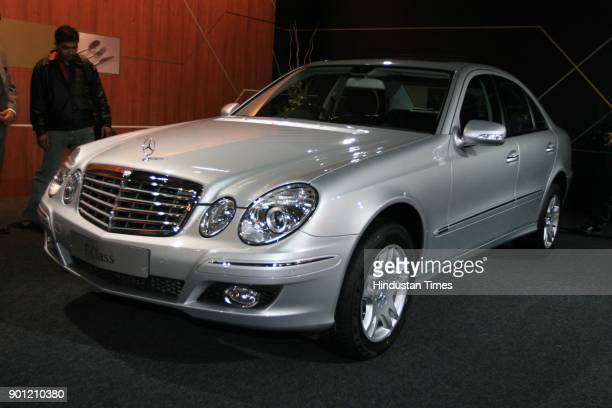 MercedesBenz launches E Class at 9th Auto Expo in the Capital on Wednesday