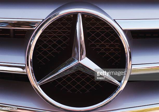 mercedes-benz logo - mercedes stock photos and pictures