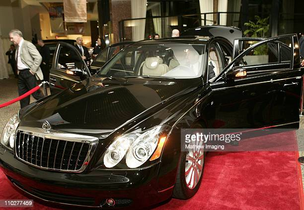 MercedesBenz Maybach 57 S during The First Public Unveiling of the $300000 MercedesBenz Maybach 57 S at MercedesBenz of Beverly Hills in Beverly...