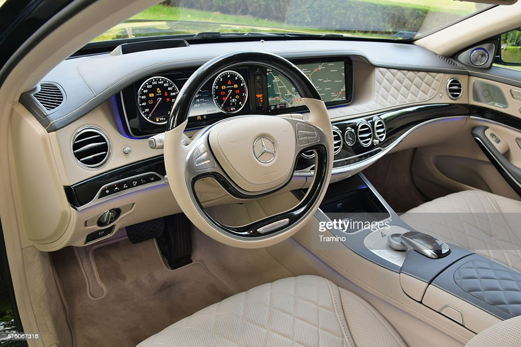 Mercedesbenz Maybach S600 Interno Foto Stock Getty Images