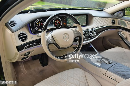 mercedesbenz maybach s600 interno foto stock getty images. Black Bedroom Furniture Sets. Home Design Ideas