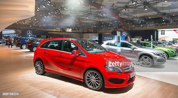 Mercedes-Benz motor show stand
