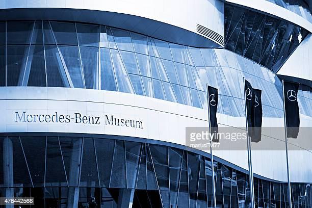 メルセデスベンツ博物館,stuttgart ,germany - メルセデスベンツ博物館 ストックフォトと画像