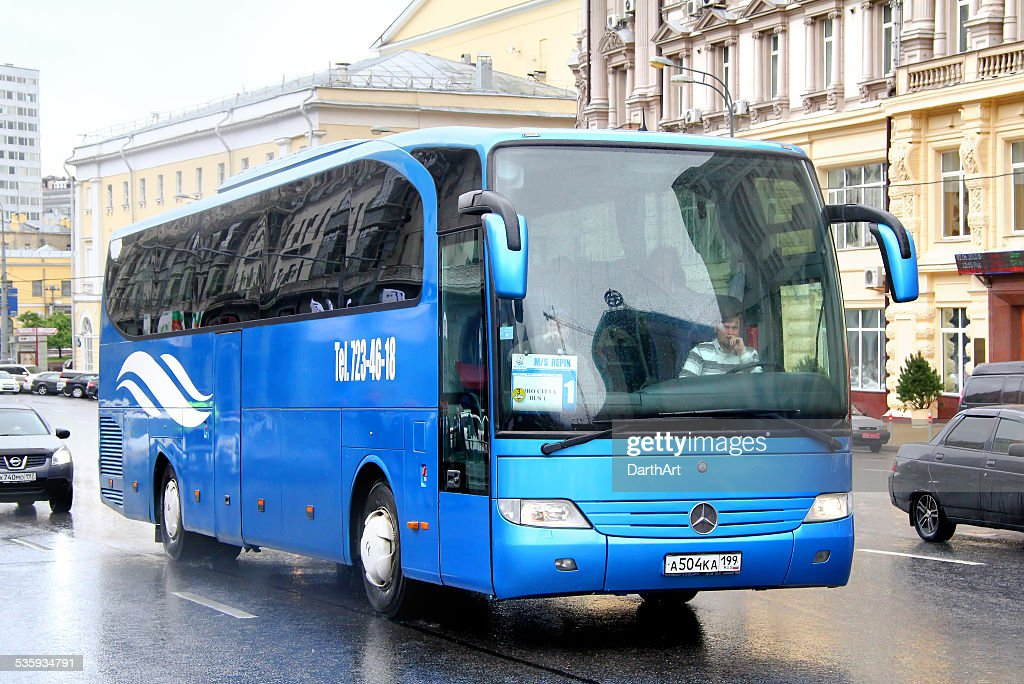 Mercedes-Benz O580-15RHD Travego : Stock Photo