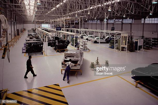 mercedes-benz plant in egypt - mercedes benz stock pictures, royalty-free photos & images