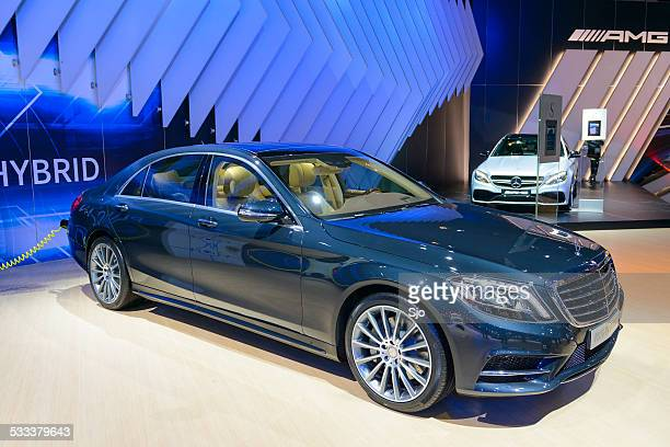 mercedes-benz s-class plug-in hybrid - mercedes benz s class stock photos and pictures