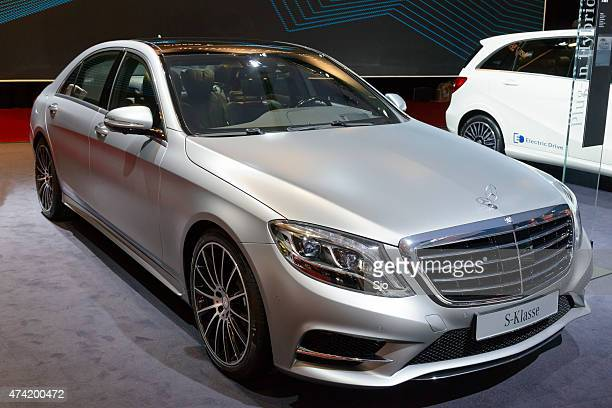 mercedes-benz s-class s 500 e plug-in hybrid - mercedes benz s class stock photos and pictures