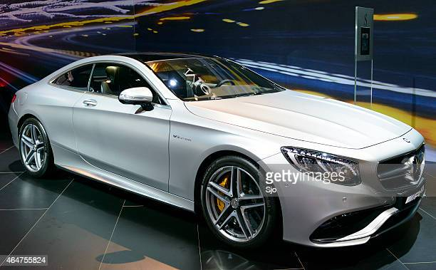 mercedes-benz s-class s65 amg coupe - mercedes benz s class stock photos and pictures