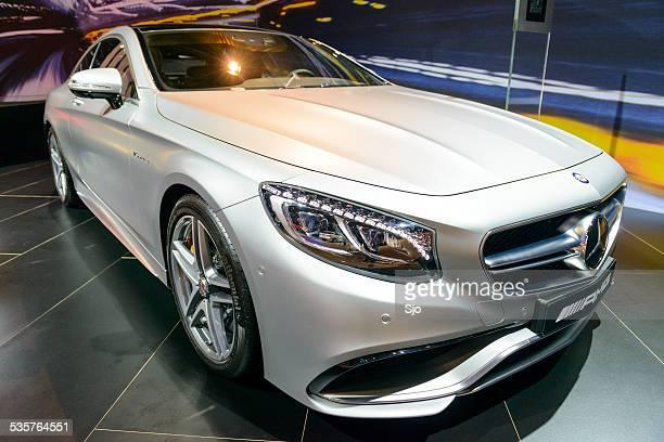 mercedes benz clase s s65 amg coupe - mercedes benz marca comercial fotografías e imágenes de stock