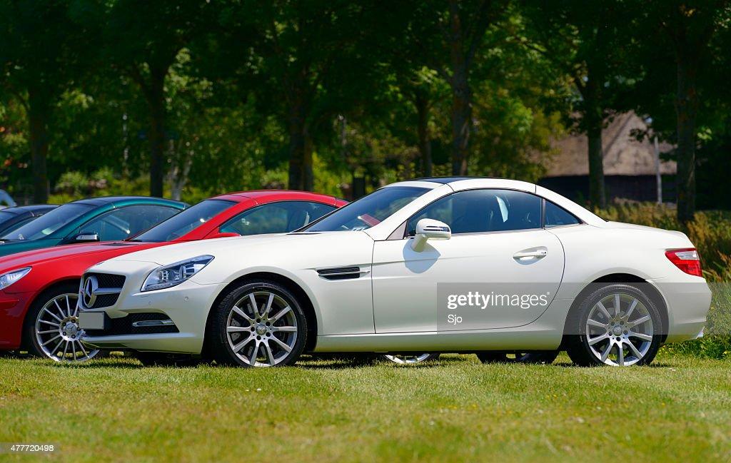 Mercedes Benz Slk Cl Compact Sports Car Stock Photo
