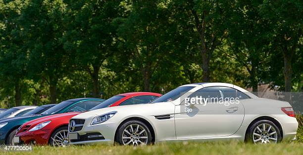 Mercedes-Benz SLK-Class compact sports car