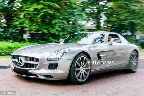 Mercedes-Benz SLS AMG sports car