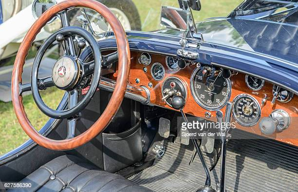 Mercedes-Benz SSK Sport convertible classic 1920s car interior