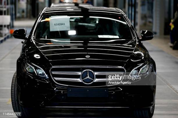 Mercedes-Benz vehicle is seen at Mercedes-Benz's automobile factory, which was built by Turkish company Esta Construction in 18 months and has...