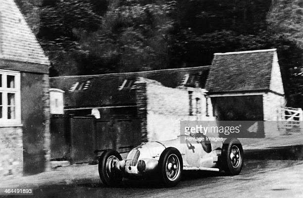 MercedesBenz W125 Donington Grand Prix 1937 The Merdedes car of Dick Seaman which failed to finish the race retiring after 29 laps due to suspension...