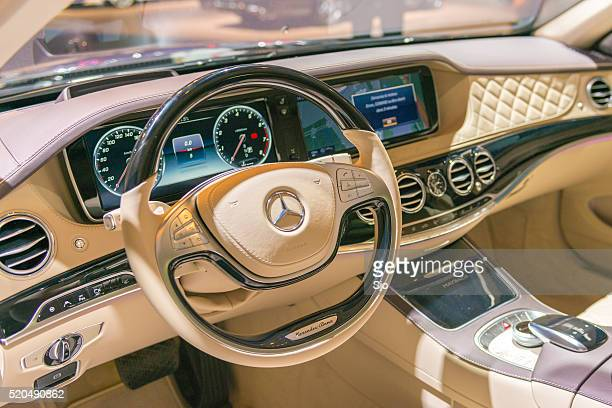 Mercedes-Maybach S500 4Matic dashboard