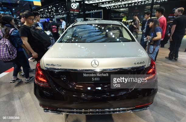 Mercedes maybach s photos et images de collection getty for Mercedes benz s680