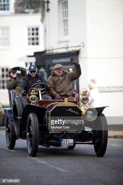 Mercedes/Simplex entered by Ulrich Knapp driven by Heidrun Knapp during the 121st London To Brighton Veteran Car Run on November 5 2017 in Cuckfield...