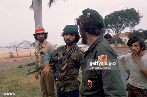 Mercenary Portuguese FNLA in Angola in 1975 FNLA National Front for the Liberation of Angola