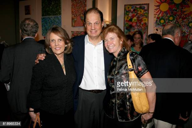 Mercer Carol Frank Folz and Margaret Stocker attend MICHELLEMARIE HEINEMANN TERRI LINDVALL present 'Select Works' an Art Exhibition at The National...