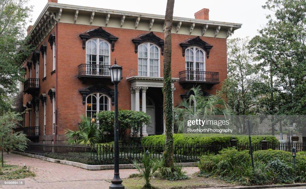 Mercer House Savannah Georgia Stock Photo Getty Images