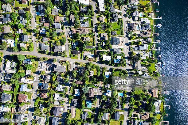 Mercer Island Community Aerial View