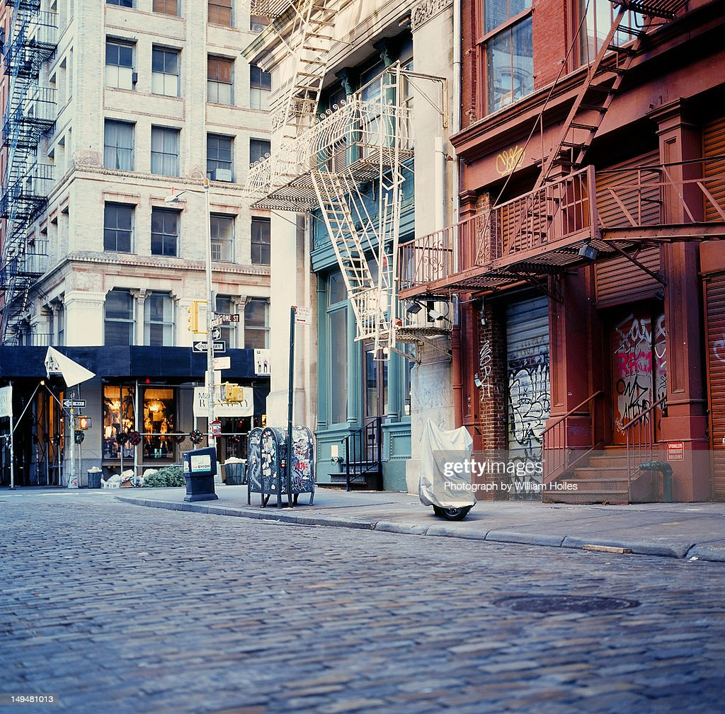 Mercer street in morning : Photo