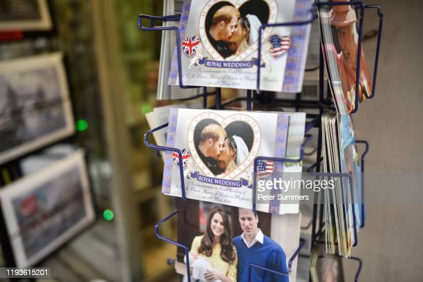 Merchandise featuring Prince Harry Duke of Sussex and Meghan Duchess of Sussex and Prince William Catherine Duchess of Sussex and Princess Charlotte...