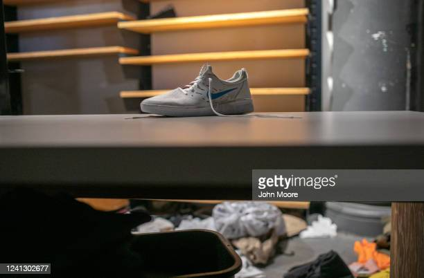 Merchandise lies in a looted shop during a night of protests and vandalism over the death of George Floyd on June 1 2020 in New York City Protesters...