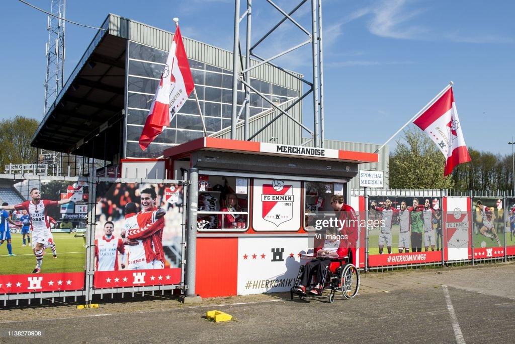 NLD: Emmen v Utrecht - Eredivisie