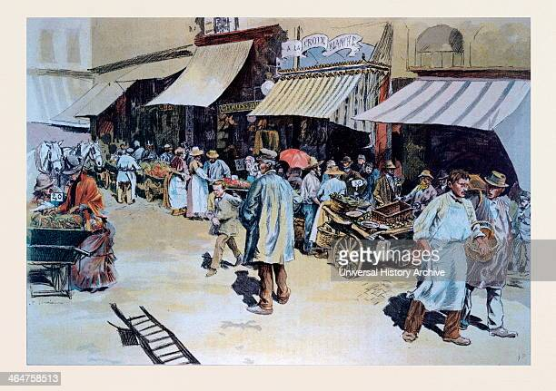 Merchant Of Four Saisons Name Given In Paris To Hawkers Vendors Of Merchandise That Can Be Easily Transported Selling In The Streets Carrying The...