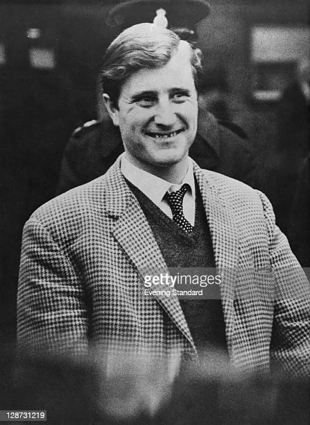 Merchant Seaman Leonard Field in police custody after his arrest for involvement in the 26 million pound Great Train Robbery 24th March 1964 Field...