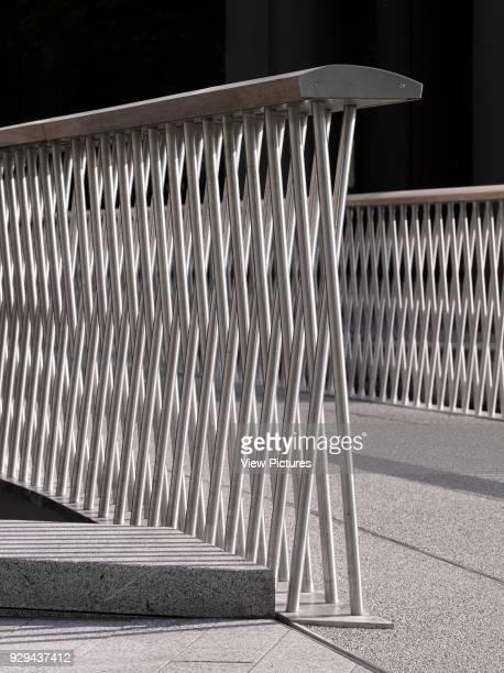 Merchant Square Footbridge London United Kingdom Architect Knight Architects Limited 2014 Detail