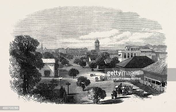 Merchant Street Rangoon British Burmah 1869