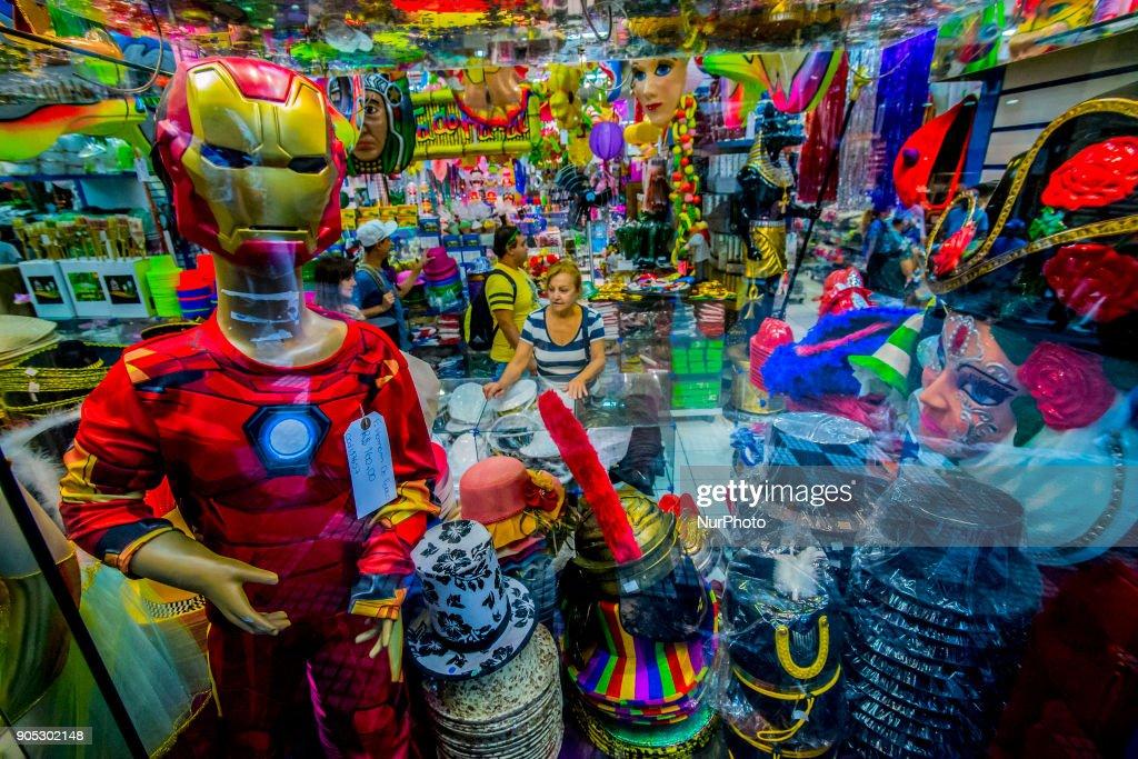 Brazil Carnival preparation