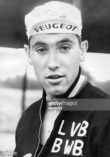 Merckx Eddy *Radrennfahrer BelgienSieger der Tour de France fuenf malSieger der Giro D'Italia fuenf mal Portrait