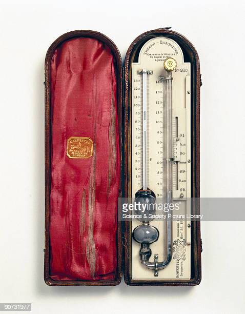 Mercury barometers needed to have two tubes that were at least 33 inches long and were generally cumbersome to carry around To allow for readings of...