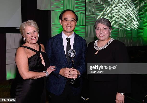 Mercury Ring Corporation CEO and Diamond Empowerment Fund President Phyllis Bergman Chow Tai Fook Managing Director Kent Wong and Gemological...