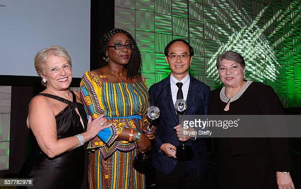 Mercury Ring Corporation CEO and Diamond Empowerment Fund President Phyllis Bergman Diamond Development Initiative International Executive Director...