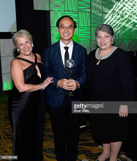 Mercury Ring Corporation CEO and Diamond Empowerment Fund President Phyllis Bergman Chow Tai Fook Managing Director Kent Wong and Gemological...