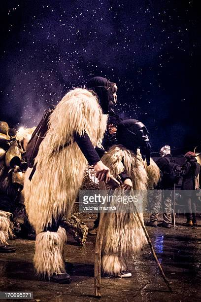 CONTENT] Merdules the masks of The Carnival of Ottana that starts the evening of January 16th the holyday of Sant'Antonio Abate when afterthe...